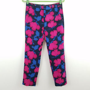 Banana Republic Avery Straight Floral Crop Pants